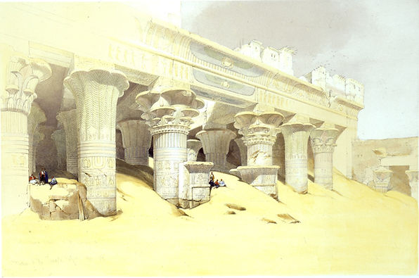 Portico of the Temple of Edfou.jpg