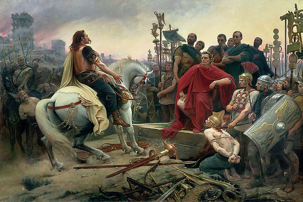 Vercingetorix Throws Down His Arms at th