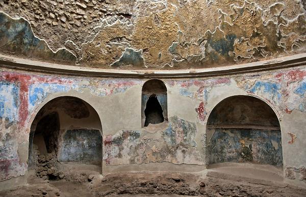 Stabian baths in Pompeii
