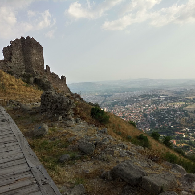 Pergamon Fortress walls