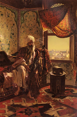Smoking The Hookah Rudolf Ernst.jpg