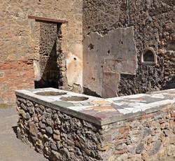 Shops in Pompei