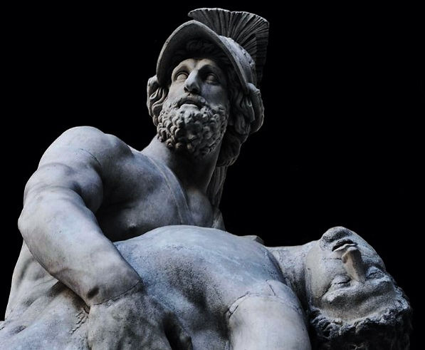 Menelaus Supporting the Body of Patroclu