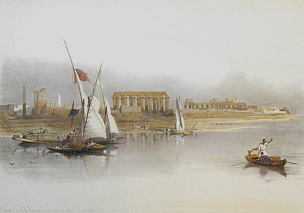 1846 Egypt and Nubia,General View of the