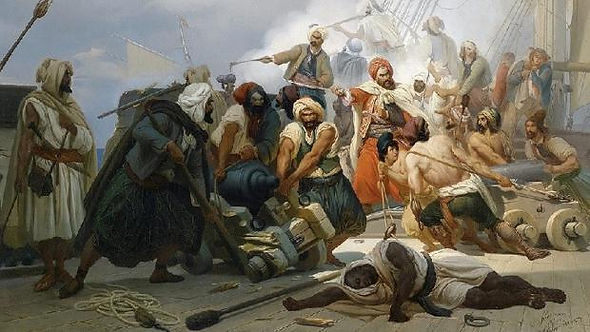 Image-of-Moroccans-in-16th-and-17th-century-Spain-Part-Spaniards-harassing-Maures