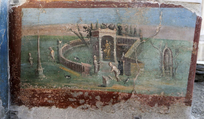 Pompei wall paintings