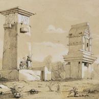 harpy mausoleum drawing.