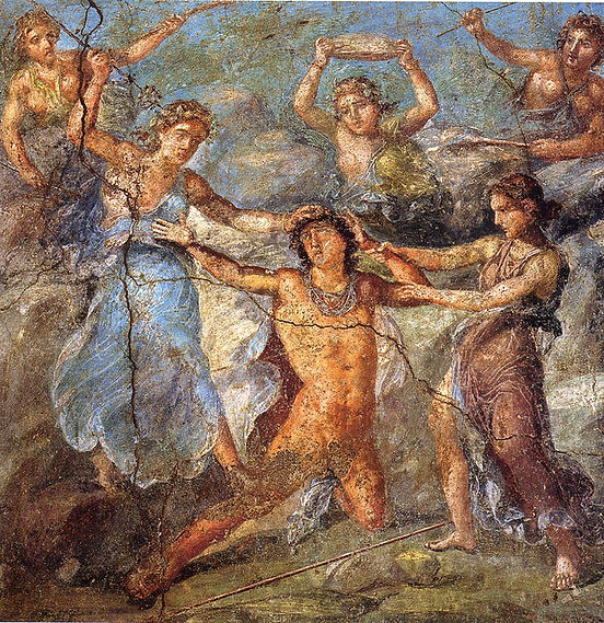 death of pantheus, Pompei, house of vettii