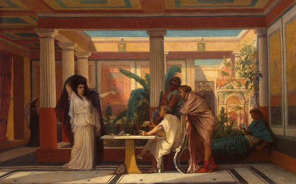 Gustave Boulanger - Theatrical Rehearsal