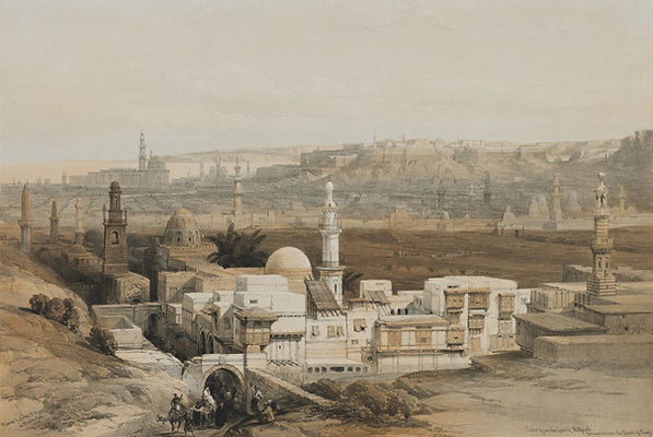 1849 Egypt and Nubia, Volume III; Cairo