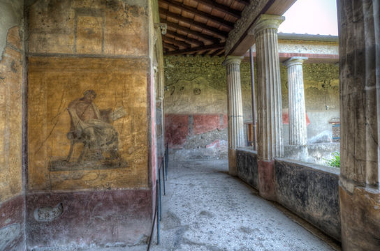 menander house Pompei
