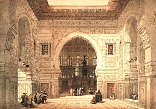 1849_Egypt_and_Nubia,_Volume_III;_Interi