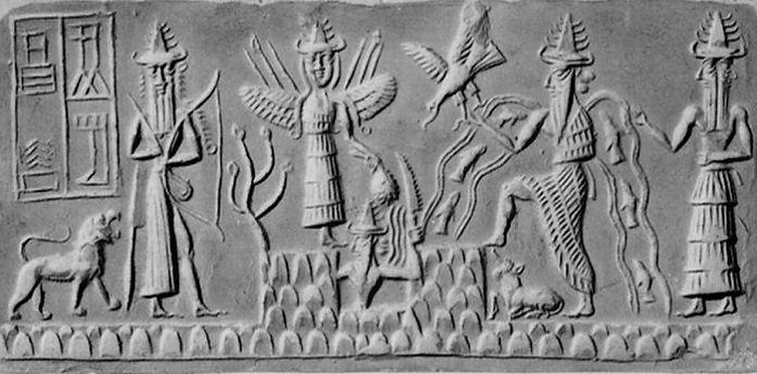Ianna the Sumerian Goddess