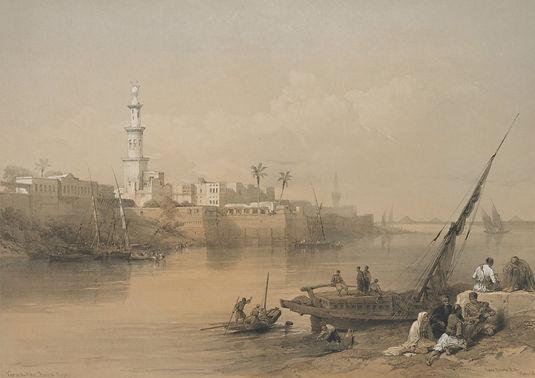 1849 Egypt and Nubia, Volume III; View o