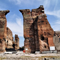 Serapeion Teple is known as Red Basilica because of the red bricks it has been made of