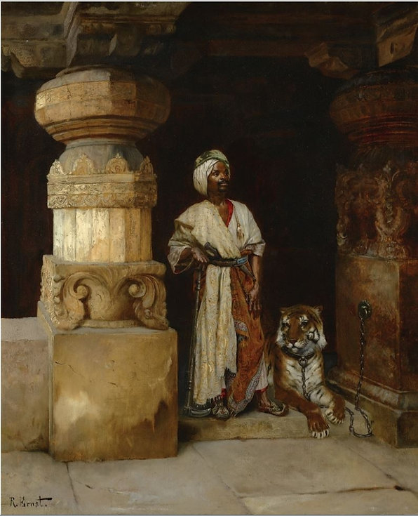 Palace-Guard-Rudolf-Ernst-Oil-Painting.j