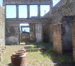 Pompei residence interior