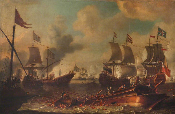 Action between English Ships and Ba.jpg