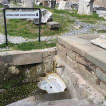 Asklepion the sacret fountain