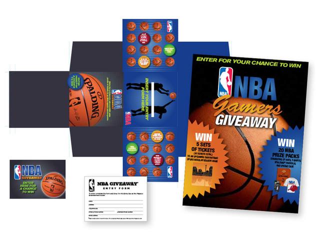 NBA and Spalding