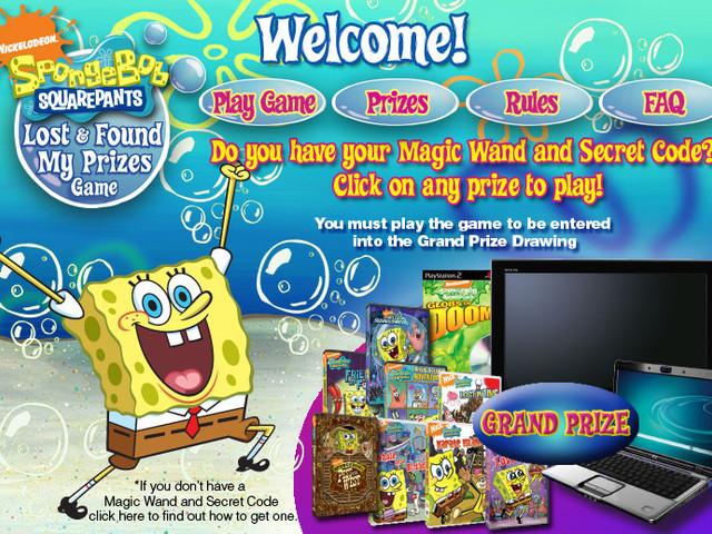 Nickelodeon Sponge Bob