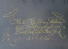 Wedding Envelope - Gomez Addams - Callig