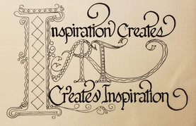 Inspiration Creates Art