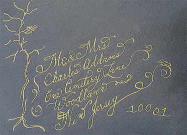 Wedding Envelope - Charles Addams - Call