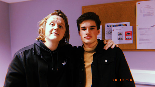 Editor with Lewis Capaldi