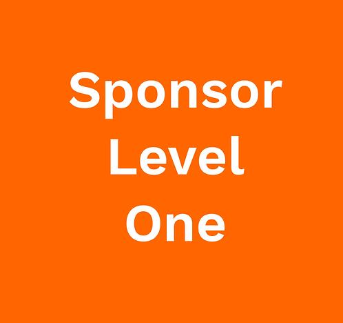 Sponsorship Level One