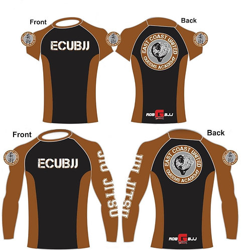 Brown Belt Rashguard Short / Long-sleeve