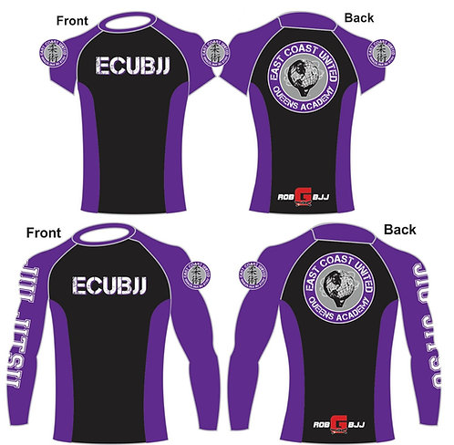 Purple Belt Rashguard Short / Long-sleeve