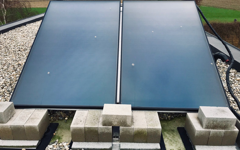 Vaillant auroSTEP plat dak opstelling