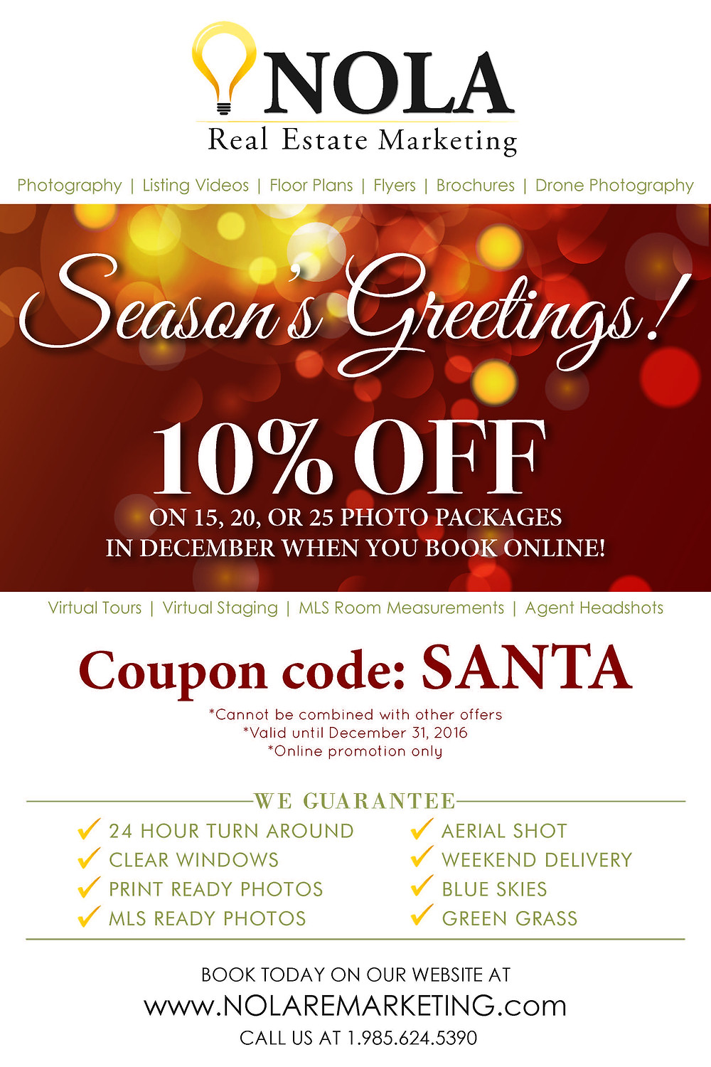 Seasons Greetings: Enjoy 10% Off