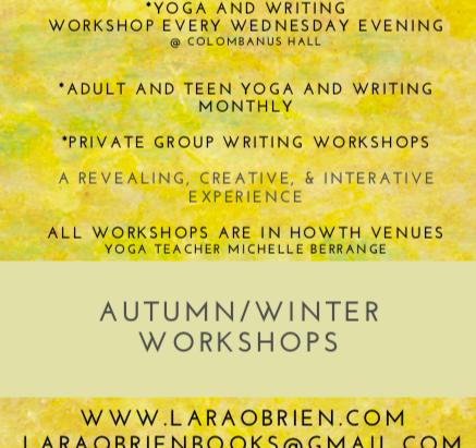 New Season. New Venue. New Workshops.