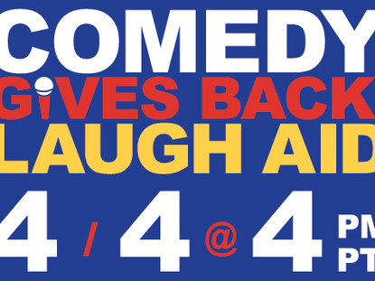 Ways to Watch Comedy Gives Back: Laugh Aid