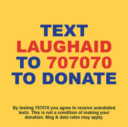 How to Donate to Comedy Gives Back: Laugh Aid