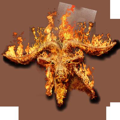 Burnin Goatees Logo