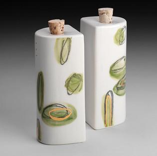 Salz- & Pfefferstreuer Aqua grün