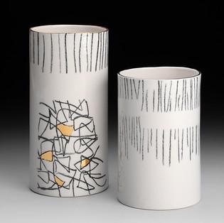 Vasen schwarz