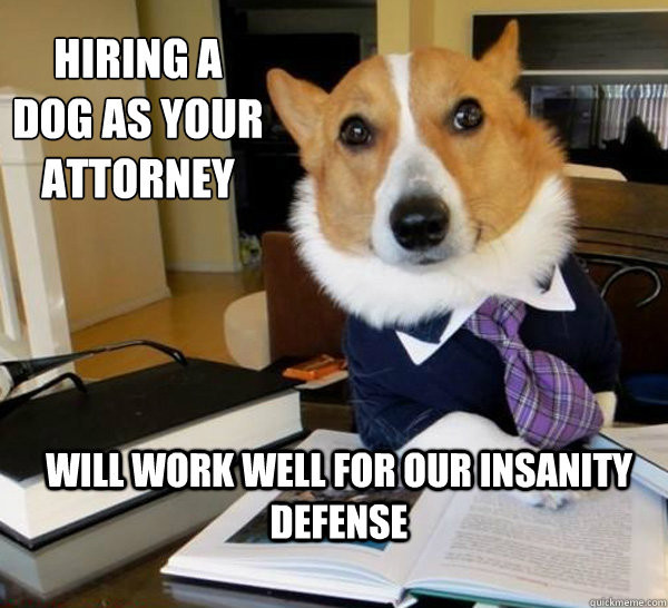 """Lawyer Dog"" to the Rescue"
