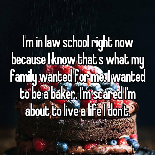 Law school? Think again...