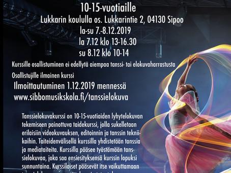 Tanssielokuvakurssi 7.-8.12.2019
