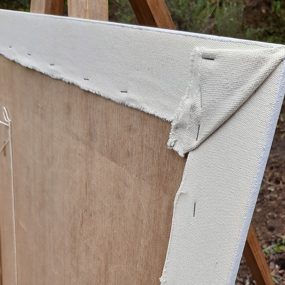 Canvas over marine ply