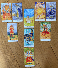 Tirage tarot Golden Wheel