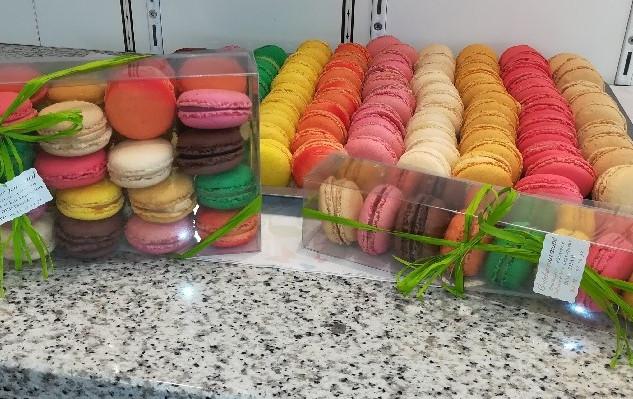 Boîtes de macarons
