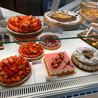 Vitine pâtisserie (tartes et entremets)