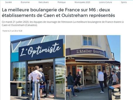 """Participation à l'émission sur M6 """"La Meilleure boulangerie de France"""""""