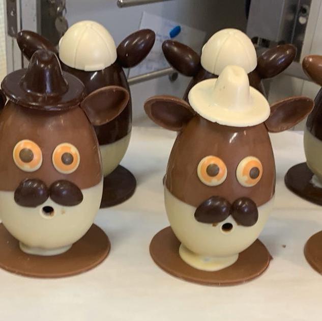 Monsieur Patate en chocolat