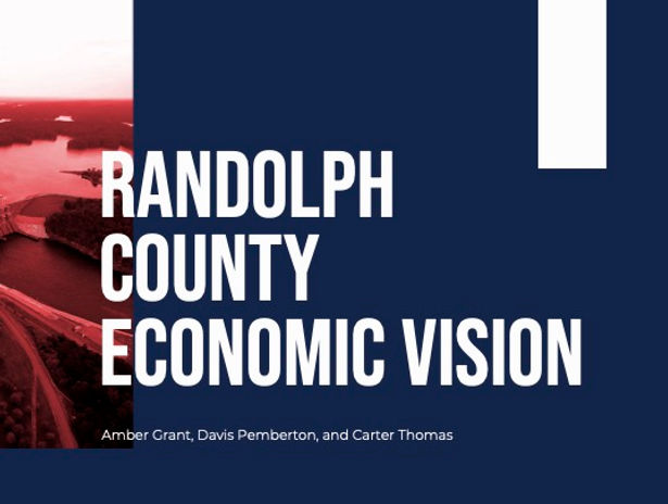 Randolph County Economci Vision- Group O